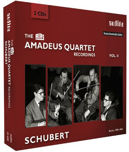 Schubert Recordings (Rias Amadeus Quartet)