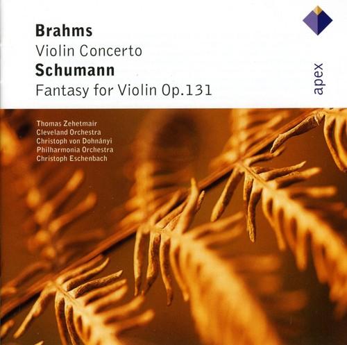 Brahms: VLN Cto /  Schumann: Fantasy for VLN