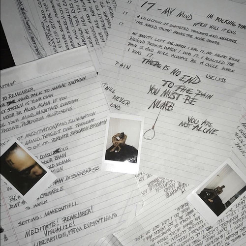 XXXTentacion - 17 [Limited Edition Black & White LP]