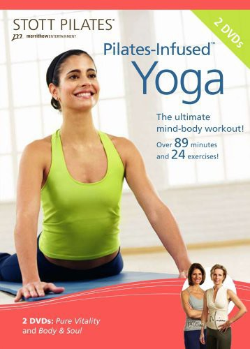 Stott Pilates: Pilates-Infused Yoga 2 DVD Set, English