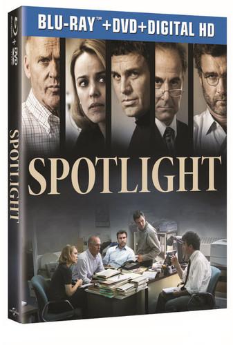 Spotlight [UltraViolet] [Blu-ray/DVD] [2 Discs]