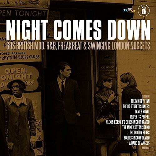 Night Comes Down: 60 British Mod R&B Freakbeat & Swingin LondonNuggets [Import]