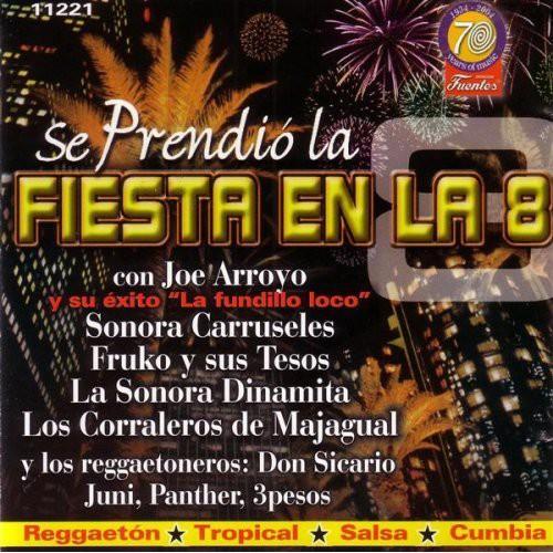 Se Prendio La Fiesta En La 8