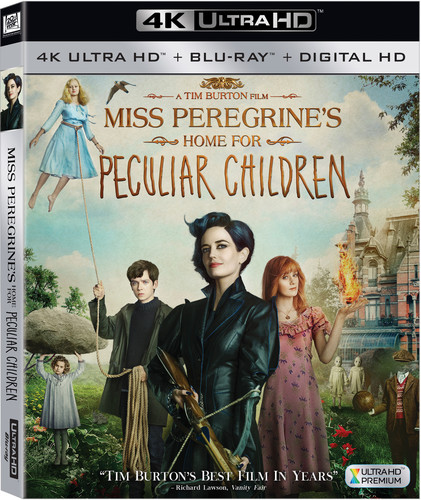 Miss Peregrine's Home for Peculiar Children [4K Ultra HD Blu-ray/Blu-ray]
