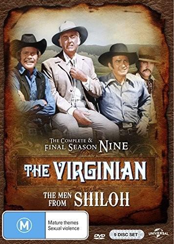 Virginian: Complete Final Season 9 Men From Shiloh [Import]