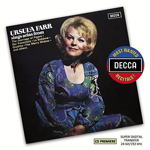 Most Wanted: Ursula Farr Sings