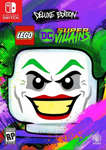 - LEGO DC Supervillains - Deluxe Edition for Nintendo Switch