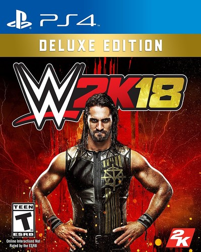 WWE 2K18 - Deluxe Edition for PlayStation 4