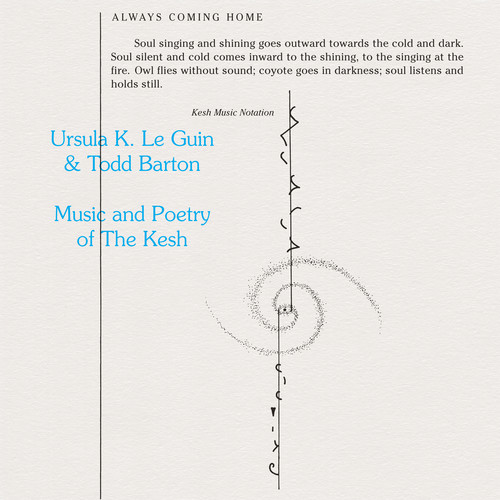 Ursula Guin / Barton,Todd - Music & Poetry Of The Kesh