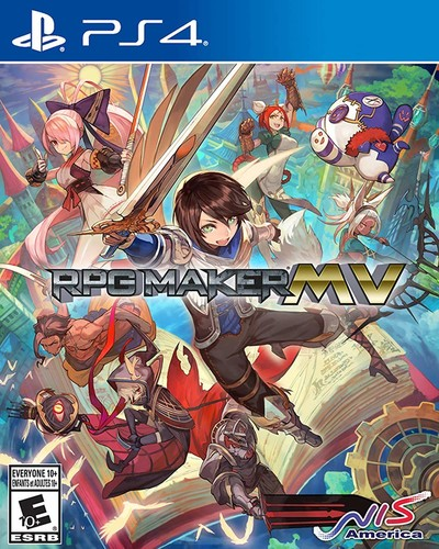 - RPG Maker MV for PlayStation 4