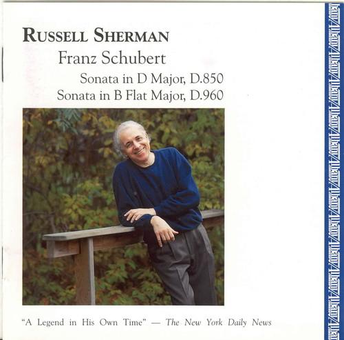 Sherman Plays Schubert