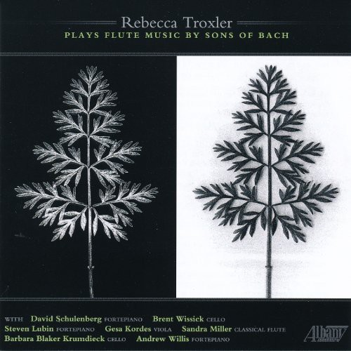 Rebecca Troxler Plays Flute Music By Sons of Bach