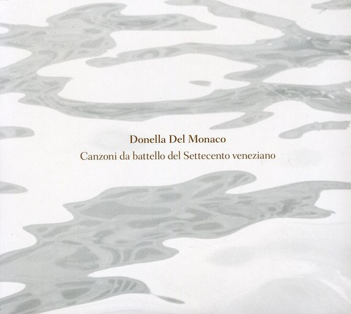 Canzoni Da Battello Del Settecento Veneziano