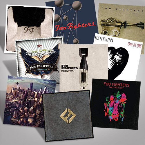The Foo Fighters Studio Albums Vinyl Bundle