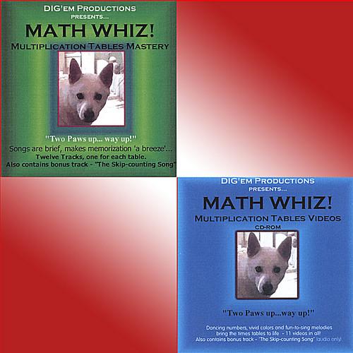 Math Whiz! Multiplication Tables Mastery /  Various