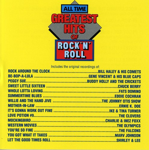 All Time Greatest Rock N Roll /  Various