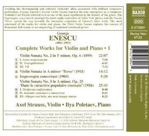 Ilya Poletaev - Complete Works For Violin & Piano