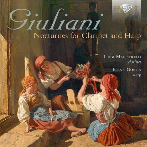 Nocturnes for Clarinet & Harp