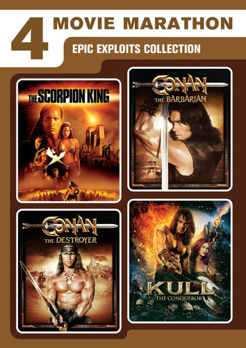 4-Movie Marathon: Epic Exploits Collection