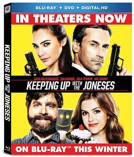 Keeping Up with the Joneses [Blu-ray/DVD]