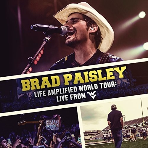 Brad Paisley - Life Amplified World Tour: Live From WVU [CD + DVD]