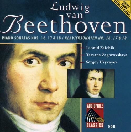 Beethoven: Pno Sonatas Nos 16 - 18