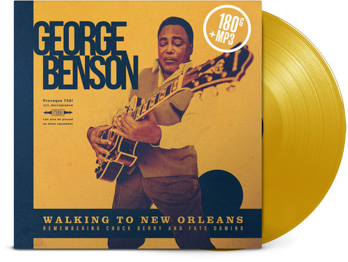 George Benson - Walking To New Orleans [Limited Edition Yellow LP]