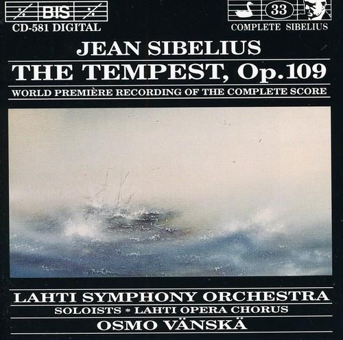Tempest /  World Premiere of Complete Score