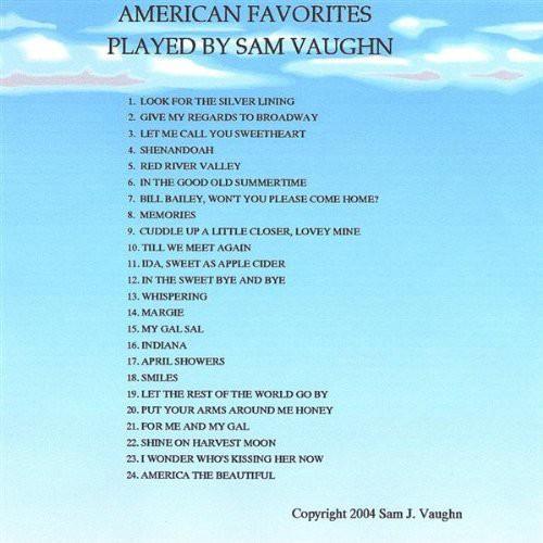 American Favorites Played By Sam Vaughn