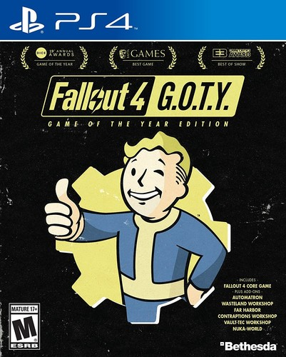 Ps4 Fallout 4 - Game of the Year Edition - Fallout 4 - Game Of The Year Edition