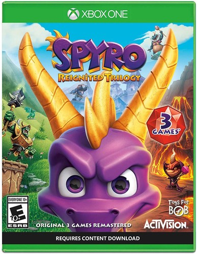 Xb1 Spyro Reignited Trilogy - Spyro Reignited Trilogy  for Xbox One