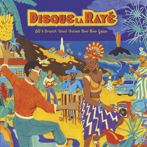 Disque La Raye: 60's French West-indies Boo /  Var