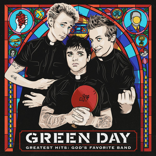 Green Day-Greatest Hits: God's Favorite Band (amended)