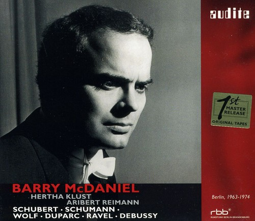Barry McDaniel Sings Schubert & Schumann & Wolf