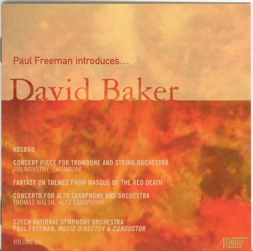 Paul Freeman Introduces David Baker