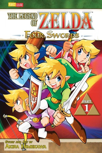 - The Legend of Zelda, Vol. 6: Four Swords, Part 1