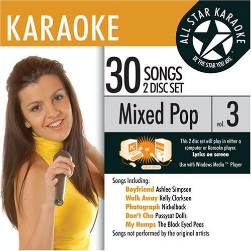 Karaoke: Mixed Pop, Vol. 3