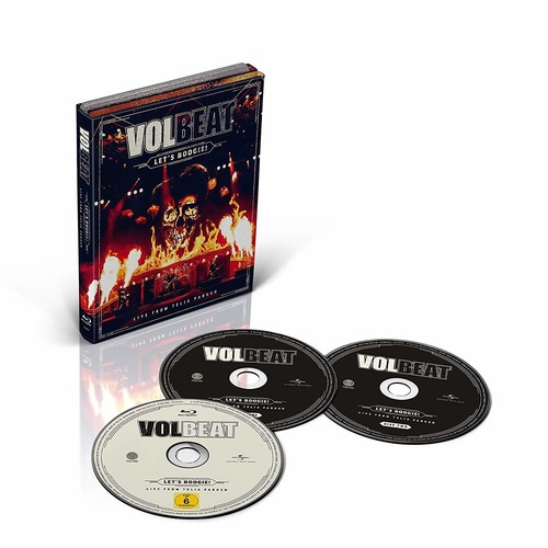 Volbeat - Let's Boogie! From Telia Parken [2CD+Blu-ray]