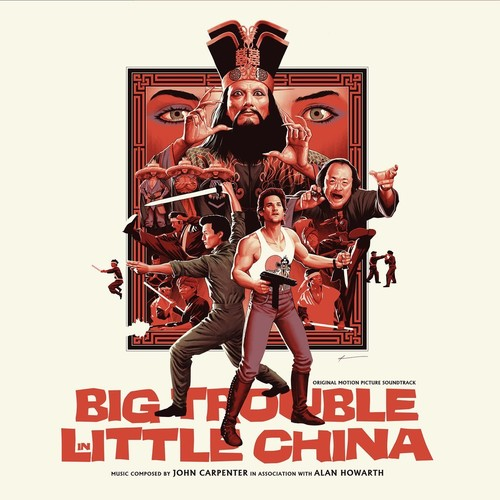 John Carpenter / Howarth,Alan Blk Gate - Big Trouble In Little China (Original Soundtrack)