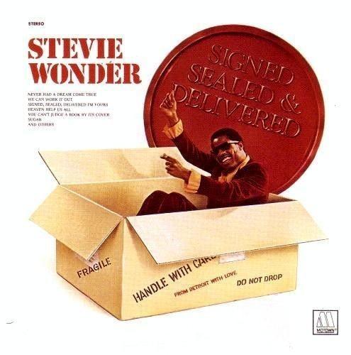 Stevie Wonder-Signed Sealed Delivered