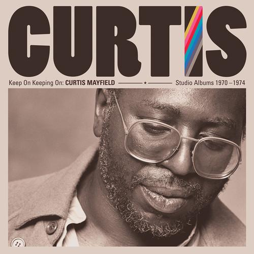 Curtis Mayfield - Keep On Keeping On: Curtis Mayfield Studio Albums 1970-1974 (4LP 180 Gram Vinyl)