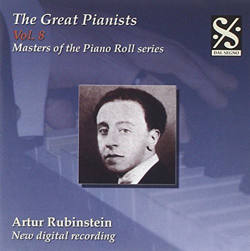 Masters of the Piano Roll: Great Pianists 8
