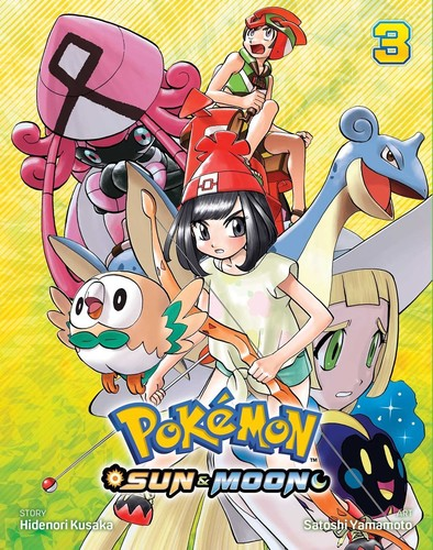 - Pokemon: Sun & Moon, Vol. 3