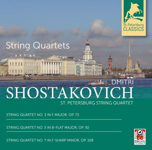 String Quartets 3, 5 & 7