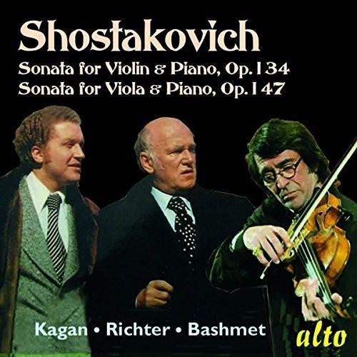 Shostakovich: Vilolin Sonata Viola Sonata Opp. 134
