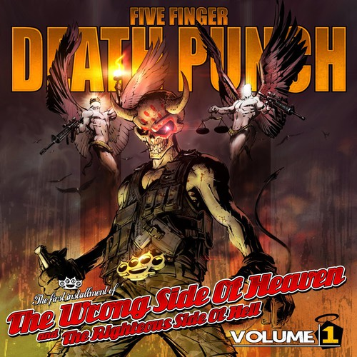 Five Finger Death Punch - The Wrong Side Of Heaven & The Righteous Side Of Hell, Vol. 1