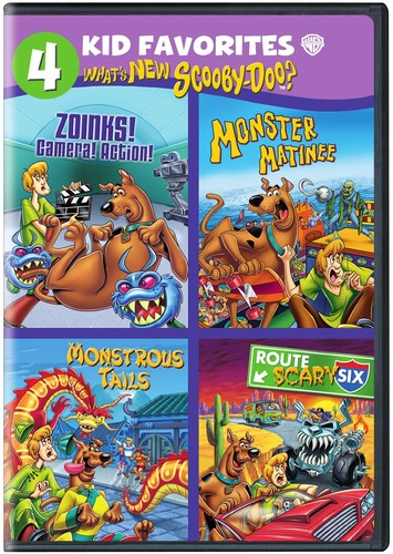 4 Kid Favorites: What's New Scooby-Doo?