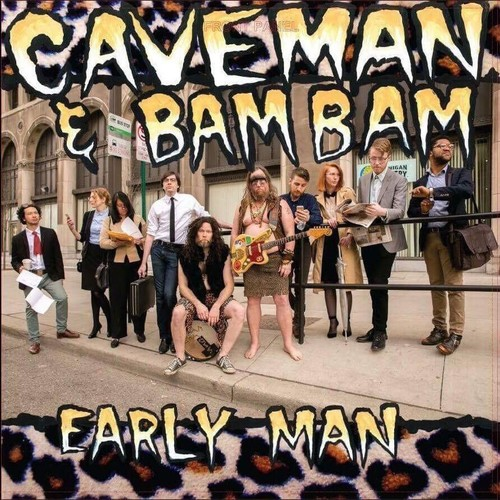 Caveman & Bam Bam - Early Man [Limited Edition Orange LP]