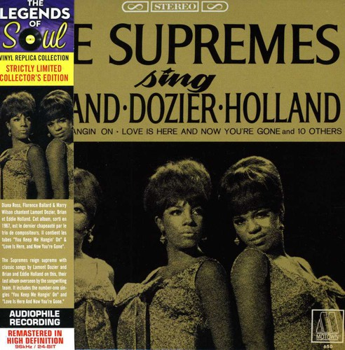 Sing Holland Dozier Holland