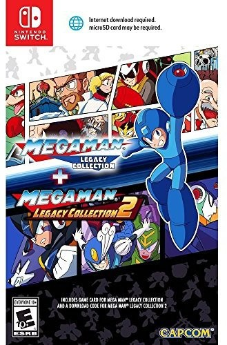 Swi Mega Man: Legacy Collection 1 + 2 - Mega Man: Legacy Collection 1 + 2 for Nintendo Switch